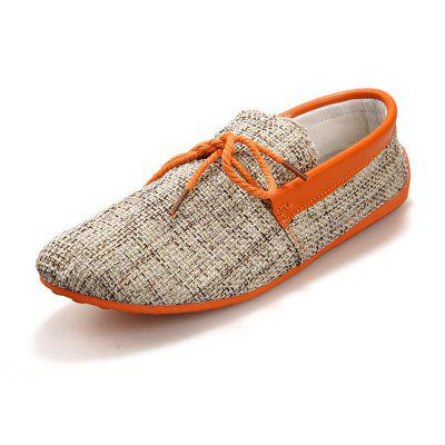 Canvas Breathable Slip On Loafers Casual Men Solid Cotton Driving ShoesFlats &amp; Loafers<br>Canvas Breathable Slip On Loafers Casual Men Solid Cotton Driving Shoes<br><br>Available Size: 39-45<br>Closure Type: Lace-Up<br>Embellishment: Criss-Cross<br>Gender: For Men<br>Insole Material: Rubber<br>Lining Material: Polyester<br>Outsole Material: Rubber<br>Package Contents: 1 x Shoes (Pair)<br>Pattern Type: Geometric<br>Season: Winter, Spring/Fall, Summer<br>Toe Shape: Square Toe<br>Toe Style: Closed Toe<br>Upper Material: Cotton Fabric<br>Weight: 2.2500kg
