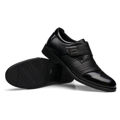 Men Classic Color Blocking Hook-Loop Business Casual Leather ShoesFormal Shoes<br>Men Classic Color Blocking Hook-Loop Business Casual Leather Shoes<br><br>Available Size: 38-48<br>Closure Type: Buckle Strap<br>Embellishment: Sequined<br>Gender: For Men<br>Occasion: Dress<br>Outsole Material: Rubber<br>Package Contents: 1 x Pair of Shoes<br>Pattern Type: Geometric<br>Season: Summer, Spring/Fall<br>Toe Shape: Pointed Toe<br>Toe Style: Closed Toe<br>Upper Material: PU<br>Weight: 2.2500kg