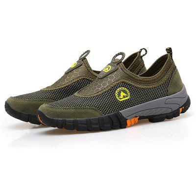 Men Big Size Breathable Mesh Slip On Loafers Outdoor Casual Sneakers ShoesMen's Sneakers<br>Men Big Size Breathable Mesh Slip On Loafers Outdoor Casual Sneakers Shoes<br><br>Available Size: 39-46<br>Closure Type: Elastic band<br>Embellishment: Hollow Out<br>Gender: For Men<br>Insole Material: Rubber<br>Lining Material: Polyester<br>Outsole Material: Rubber<br>Package Contents: 1 x Shoes (Pair)<br>Pattern Type: Geometric<br>Season: Winter, Spring/Fall, Summer<br>Toe Shape: Square Toe<br>Toe Style: Closed Toe<br>Upper Material: Cotton Fabric<br>Weight: 2.2500kg