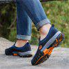 Men Big Size Breathable Mesh Slip On Loafers Outdoor Casual Sneakers Shoes - BLUE