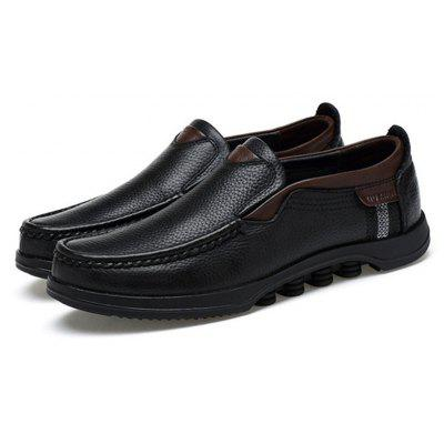 Men Large Size Cow Leather Slip On Soft Casual ShoesMen's Oxford<br>Men Large Size Cow Leather Slip On Soft Casual Shoes<br><br>Available Size: 37-48<br>Closure Type: Elastic band<br>Embellishment: Sequined<br>Gender: For Men<br>Occasion: Dress<br>Outsole Material: Rubber<br>Package Contents: 1 x Pair of Shoes<br>Pattern Type: Geometric<br>Season: Summer, Spring/Fall<br>Toe Shape: Pointed Toe<br>Toe Style: Closed Toe<br>Upper Material: Fur<br>Weight: 1.8000kg