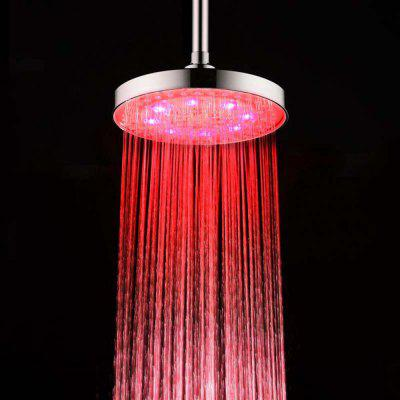 BRELONG 8 inch LED Single Color Shower Round Red Green Blue