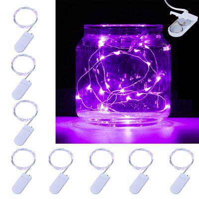 BRELONG 10LED Copper Wire String Lights For Christmas Indoor Decorations 8pcs