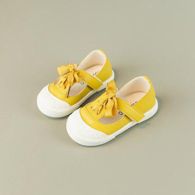 Beauty of Soft Bottom Bowknot Toddler ShoesWomens Casual Shoes<br>Beauty of Soft Bottom Bowknot Toddler Shoes<br><br>Available Size: 21  22  23  24  25<br>Closure Type: Hook / Loop<br>Embellishment: Bowknot<br>Gender: For Women<br>Outsole Material: Rubber<br>Package Contents: 1 x Pair of Shoes<br>Pattern Type: Others<br>Season: Spring/Fall<br>Toe Shape: Round Toe<br>Toe Style: Closed Toe<br>Upper Material: Synthetic<br>Weight: 0.4440kg