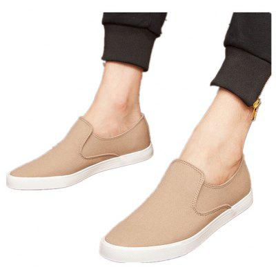 Spring and Summer Breathable Casual Canvas ShoesCasual Shoes<br>Spring and Summer Breathable Casual Canvas Shoes<br><br>Available Size: 39,40,41,42,43,44<br>Closure Type: Elastic band<br>Embellishment: None<br>Gender: For Men<br>Outsole Material: Rubber<br>Package Contents: 1XShoes(pair)<br>Pattern Type: Others<br>Season: Summer, Spring/Fall<br>Toe Shape: Round Toe<br>Toe Style: Closed Toe<br>Upper Material: Canvas<br>Weight: 2.4684kg