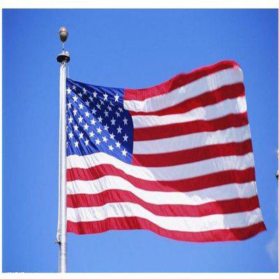 150X90CM High Quality Double-Sided Printed Polyester American Flag Ring