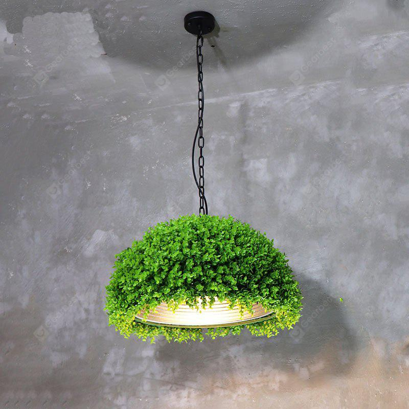 Creative Plant Style Pendant Light for Coffee Shop Restaurant