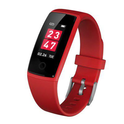 V10 Heart Rate Monitor Blood Pressure Colorful Screen Smart Wristband Passometer Fitness Tracker 0.96 inch