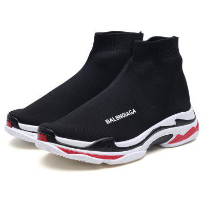 Flying Breathable Casual Couple ShoesMen's Sneakers<br>Flying Breathable Casual Couple Shoes<br><br>Available Size: 35-44<br>Closure Type: Slip-On<br>Embellishment: None<br>Gender: Unisex<br>Outsole Material: Rubber<br>Package Contents: 1xShoes(pair)<br>Pattern Type: Solid<br>Season: Summer, Winter, Spring/Fall<br>Toe Shape: Round Toe<br>Toe Style: Closed Toe<br>Upper Material: Stretch Fabric<br>Weight: 1.3640kg