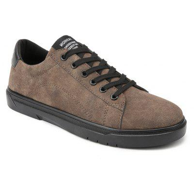 Chaussures à lacets Solid Lace Up Fashion Casual