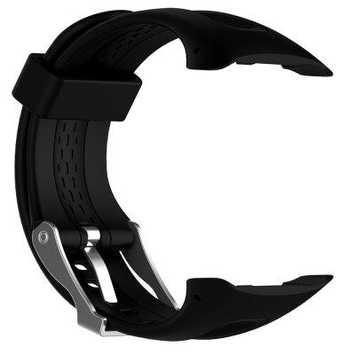 Replacement Silicone Band Strap Accessory For Garmin Forerunner 10/15 Man Large Size 0.98 inch x 0.94 inch