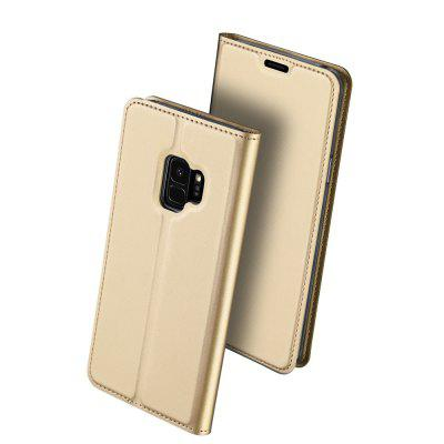 Cover Case for Samsung Galaxy S9 Luxury Ultra-thin Flip Stand PU Leather lichee pattern protective pu leather case cover stand w card slot for samsung galaxy note 3 brown