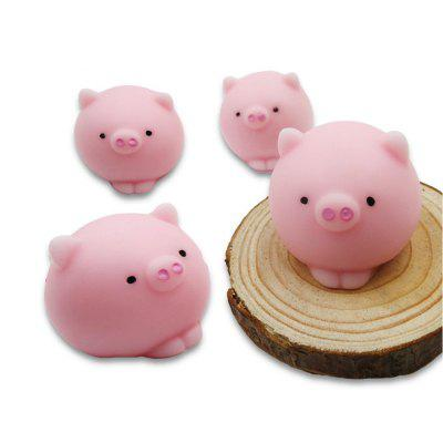 Jumbo Squishy Squeeze Leuke Mini Dieren Vorm Fidget Stress Relief Toy 4PCS