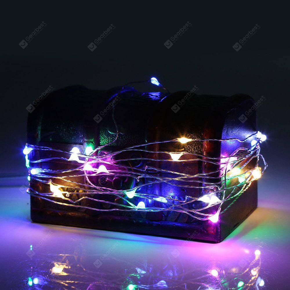 BRELONG 2m20LED Copper Wire String Lights for Christmas Indoor Decorations 8pcs