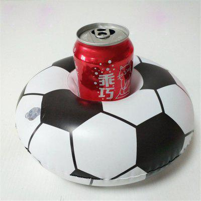 Hot High-Quality Mini-Inflatable Floating Soccer Cup Holder