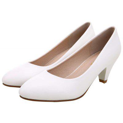 YALNN New Women Leather Classic Pumps Work  Office Girls  5cm Med Heel ShoesWomens Pumps<br>YALNN New Women Leather Classic Pumps Work  Office Girls  5cm Med Heel Shoes<br><br>Heel Height: 5cm<br>Heel Height Range: Med(1.75-2.75)<br>Heel Type: Chunky Heel<br>Insole Material: Latex<br>Lining Material: PU<br>Occasion: Office &amp; Career<br>Outsole Material: TPR<br>Package Contents: 1 x Shoes Pair<br>Pumps Type: Basic<br>Season: Summer, Spring/Fall<br>Shoe Width: Medium(B/M)<br>Toe Shape: Pointed Toe<br>Toe Style: Closed Toe<br>Upper Material: PU<br>Weight: 1.0800kg