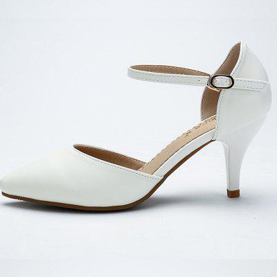 YALNN Spring Summer Basic Women Pumps Shallow Buckle Strap Thin Heels Pointed Toe for Leisure Office Career ShoesWomens Pumps<br>YALNN Spring Summer Basic Women Pumps Shallow Buckle Strap Thin Heels Pointed Toe for Leisure Office Career Shoes<br><br>Embellishment: Buckle<br>Heel Height: 7cm<br>Heel Height Range: High(3-3.99)<br>Heel Type: Stiletto Heel<br>Insole Material: PU<br>Lining Material: PU<br>Occasion: Office &amp; Career<br>Outsole Material: TPR<br>Package Contents: 1 x Shoes Pair<br>Pumps Type: Basic<br>Season: Summer, Spring/Fall<br>Shoe Width: Medium(B/M)<br>Toe Shape: Pointed Toe<br>Toe Style: Closed Toe<br>Upper Material: PU<br>Weight: 1.0800kg