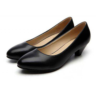 YALNN Ladies Leather Medical High-Heeled New Classic Office ShoesWomens Pumps<br>YALNN Ladies Leather Medical High-Heeled New Classic Office Shoes<br><br>Heel Height: 5cm<br>Heel Height Range: Med(1.75-2.75)<br>Heel Type: Chunky Heel<br>Insole Material: Latex<br>Lining Material: Synthetic<br>Occasion: Office &amp; Career<br>Outsole Material: TPR<br>Package Contents: 1 x Shoes Pair<br>Pumps Type: Basic<br>Season: Summer, Spring/Fall<br>Shoe Width: Medium(B/M)<br>Toe Shape: Pointed Toe<br>Toe Style: Closed Toe<br>Upper Material: PU<br>Weight: 1.0800kg
