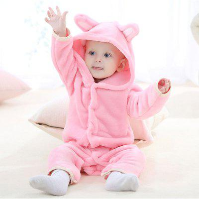 2018 Spring and Autumn Bear Cub Cute Conjoined Baby Crawling Clothes new lone wolf and cub v 7