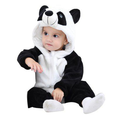 2018 Panda Spring and Autumn Flannel Animal Modeling Climbing Clothes Children Newborn Clothingbaby clothing sets<br>2018 Panda Spring and Autumn Flannel Animal Modeling Climbing Clothes Children Newborn Clothing<br><br>Applicable gender: Neutral / men and women can be<br>Closed style: Zipper<br>Closure Type: Zipper<br>Collar: Hooded<br>Color: Black and white<br>For the season: Spring and autumn, spring and autumn<br>Gender: Unisex<br>Head Drawstring: Without<br>Material: Cotton<br>Modeling: Panda Climb clothes<br>Neck Drawstring: Without<br>Package Contents: 1 x Baby Clothing<br>Product weight: 0.36 kg<br>Season: Spring<br>Sleeve: Long sleeve<br>Sleeve Length: Full<br>Thickness: General<br>Weight: 0.7840kg