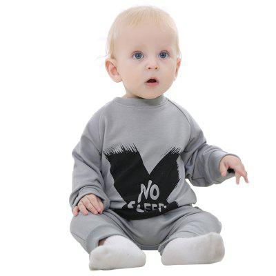 Spring and Summer Baby Clothing Cotton Open Jumper Jumpsuit