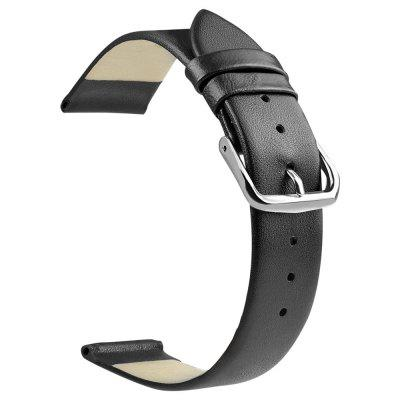 ZLIMSN TB5 Slim Leather Watch Replacement Band Strap 18mm 20mm 22mm