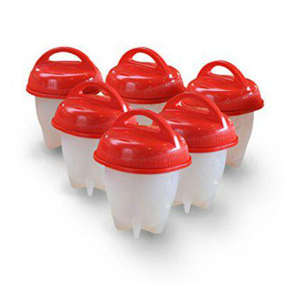 6PCS Egg Cooker Cooking Cup Eggs Boiled without Shell 258398201