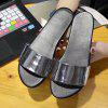 New Fashion Non-Slip Flat-Bottomed Slippers - SILVER