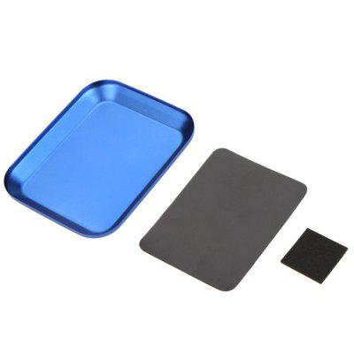 Aluminium Screw the Tray With Magnetic Pad for RC Model Cell Phone Repair