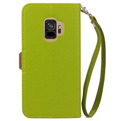 Leaf Luxury Leather Wallet Stand Flip Cover Case for Samsung Galaxy S9Samsung S Series<br>Leaf Luxury Leather Wallet Stand Flip Cover Case for Samsung Galaxy S9<br><br>Features: Full Body Cases, With Credit Card Holder, Anti-knock<br>For: Samsung Mobile Phone<br>Material: TPU, PU Leather<br>Package Contents: 1 x Phone Case, 1 x Rope<br>Package size (L x W x H): 18.00 x 9.00 x 2.00 cm / 7.09 x 3.54 x 0.79 inches<br>Package weight: 0.0800 kg<br>Style: Cool, Special Design