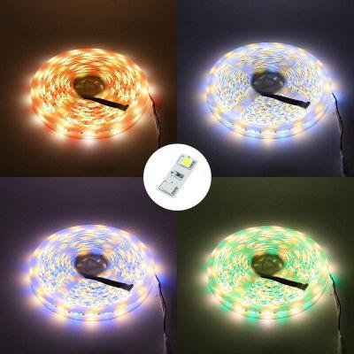 5M/Lot LED Strip 5050 RGBW DC 12V Flexible LED Light RGB + Warm White 60 LED/MLED Strips<br>5M/Lot LED Strip 5050 RGBW DC 12V Flexible LED Light RGB + Warm White 60 LED/M<br><br>Beam Angle: 180 Degree<br>Bulb Included: Yes<br>Color Temperature or Wavelength: 5500 - 6500K(White) ;  2700 - 3500KK(Warm White)?700 - 635nm (Red); 650 - 490nm (Green); 490 - 440 nm( Blue)<br>Features: Festival Lighting, Color-changing, Cuttable<br>LED Quantity: 300<br>Length ( m ): 5<br>Light Source: LED,Energy Saving,LED Light,5050 SMD<br>Package Content: 1 x Led String Light<br>Package size (L x W x H): 19.00 x 16.00 x 1.50 cm / 7.48 x 6.3 x 0.59 inches<br>Package weight: 0.0830 kg<br>Power Supply: 12V<br>Product weight: 0.0780 kg<br>Type: Flexible LED Light Strips<br>Voltage: DC12V<br>Waterproof Rate: IP20<br>Wattage (W): 9<br>Width( mm ): 10