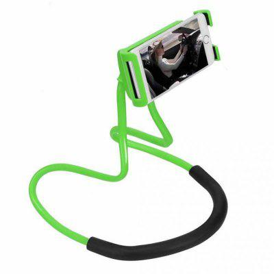 Flexible Hanging Neck Lazy Necklace Bracket Smartphone Holder Stand for iPhone  Huawei