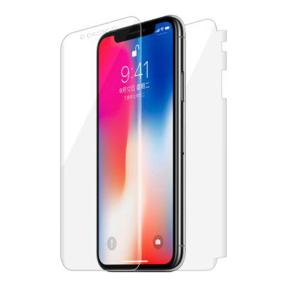 Full Screen Soft Film Protector for iPhone X