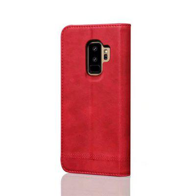 For Samsung Galaxy S9 Plus  Folio Antique Leather Case Magnetic Closure Leisure Stand CoverSamsung S Series<br>For Samsung Galaxy S9 Plus  Folio Antique Leather Case Magnetic Closure Leisure Stand Cover<br><br>Features: Full Body Cases, Cases with Stand, With Credit Card Holder<br>For: Samsung Mobile Phone<br>Material: TPU, PU Leather<br>Package Contents: 1 x Phone Case<br>Package size (L x W x H): 20.00 x 10.00 x 4.00 cm / 7.87 x 3.94 x 1.57 inches<br>Package weight: 0.1000 kg<br>Product weight: 0.0500 kg<br>Style: Vintage