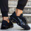 ZEACAVA Summer Men's Casual Sports Breathable Mesh Shoes - BLACK