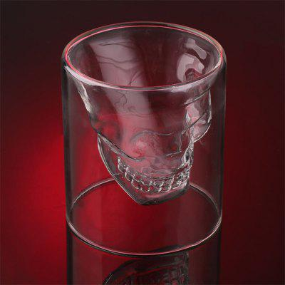 Creative Skull Shooting Glass Beer Cup Double Transparent DrinkBarware<br>Creative Skull Shooting Glass Beer Cup Double Transparent Drink<br><br>Available Color: Transparent Color<br>Package Contents: 1 X Skull Glass<br>Package size (L x W x H): 12.50 x 11.00 x 11.00 cm / 4.92 x 4.33 x 4.33 inches<br>Package weight: 0.1500 kg<br>Product size (L x W x H): 8.50 x 8.00 x 8.00 cm / 3.35 x 3.15 x 3.15 inches<br>Product weight: 0.1050 kg