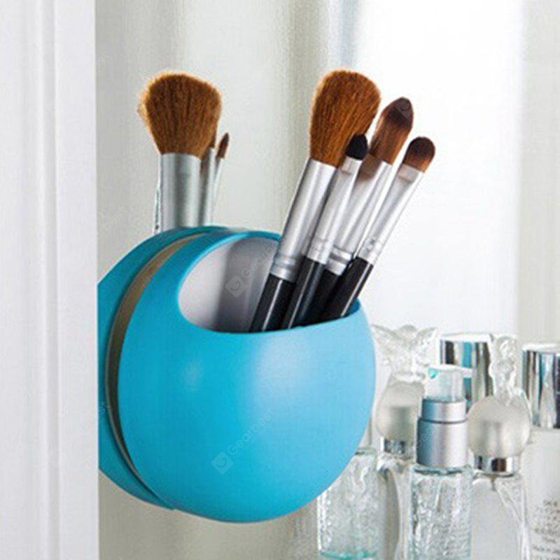 New Fashion Bathroom Kitchen Family Toothbrush Suction Holder Wall Stand Hook Cups Organizer
