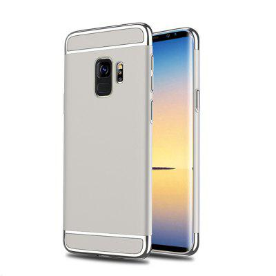 Cover Case for Samsung Galaxy S9 Plus 3 In 1 Ultra Thin and  Hard  Coated Non Slip Matte Surface with Electroplate Frame