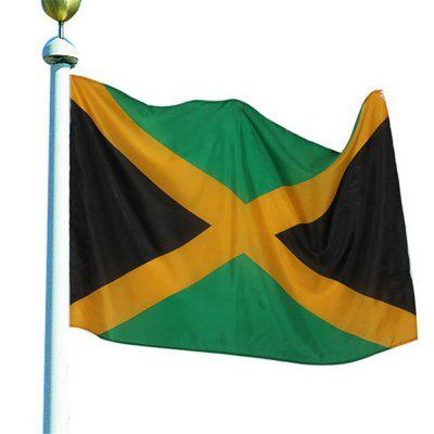 Best Selling High Quality 90X150 Cm Jamaica Flag Polyester Banner Outdoor