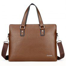New Casual Fashion Hand-shoulder Diagonal Cross-section Briefcase Male