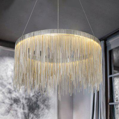 Buy Nordic Modern Simplified Phere Tassel Personality Lamp Living Room Bedroom Art Creative Pendant Light GOLDEN for $270.49 in GearBest store