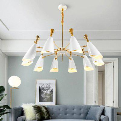 Nordic Modern Industrial Style Creative Chandelier for Living Room Restaurant