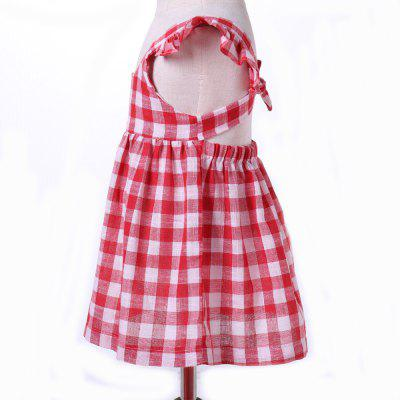yoyoxiu CX1122 - 1 Red and White Grid Girls Dress for 1 - 4 Years oldGirls dresses<br>yoyoxiu CX1122 - 1 Red and White Grid Girls Dress for 1 - 4 Years old<br><br>Dresses Length: Knee-Length<br>Elasticity: Micro-elastic<br>Embellishment: Backless<br>Material: Cotton<br>Package Contents: 1 x Dress<br>Pattern Type: Plaid<br>Season: Summer<br>Silhouette: Pleated<br>Sleeve Length: Sleeveless<br>Style: Fashion<br>Waist: Natural<br>Weight: 0.2240kg<br>With Belt: No