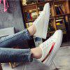 Lace Literary Leisure Street Shoot Flat Shoes - RED