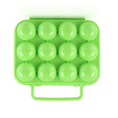 Outdoor Picnic Garden Portable Folding Plastic Carton Storage Tray Box Reusable Container 12 Egg SlotsOther Camping Gadgets<br>Outdoor Picnic Garden Portable Folding Plastic Carton Storage Tray Box Reusable Container 12 Egg Slots<br><br>Package Contents: 1 x Egg Box<br>Package Size(L x W x H): 22.00 x 20.00 x 8.00 cm / 8.66 x 7.87 x 3.15 inches<br>Package weight: 0.1250 kg<br>Product weight: 0.1200 kg