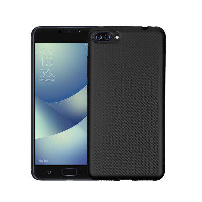 Ultra-slim Carbon Fiber Matte Phone Case for ASUS Zenfone 4 Max Plus hct019 free shipping by dhl 8pcs pack 30x28x1000mm twill matte 3k carbon fiber tubes strips pipes rod