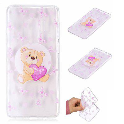 TPU Material Bear Pattern Painted Phone Case for Samsung Galaxy S9 PlusSamsung S Series<br>TPU Material Bear Pattern Painted Phone Case for Samsung Galaxy S9 Plus<br><br>Color: Colorful<br>Compatible with: SAMSUNG<br>Features: Back Cover<br>For: Samsung Mobile Phone<br>Material: TPU<br>Package Contents: 1 x Phone Case<br>Package size (L x W x H): 20.00 x 12.00 x 1.00 cm / 7.87 x 4.72 x 0.39 inches<br>Package weight: 0.0210 kg<br>Product size (L x W x H): 15.80 x 7.80 x 0.80 cm / 6.22 x 3.07 x 0.31 inches<br>Product weight: 0.0200 kg<br>Style: Pattern