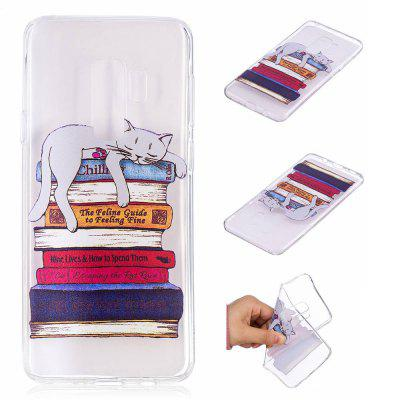 TPU Material Book Cats Pattern Painted Phone Case for Samsung Galaxy S9 PlusSamsung S Series<br>TPU Material Book Cats Pattern Painted Phone Case for Samsung Galaxy S9 Plus<br><br>Color: Colorful<br>Compatible with: SAMSUNG<br>Features: Back Cover<br>For: Samsung Mobile Phone<br>Material: TPU<br>Package Contents: 1 x Phone Case<br>Package size (L x W x H): 20.00 x 12.00 x 1.00 cm / 7.87 x 4.72 x 0.39 inches<br>Package weight: 0.0210 kg<br>Product size (L x W x H): 15.80 x 7.80 x 0.80 cm / 6.22 x 3.07 x 0.31 inches<br>Product weight: 0.0200 kg<br>Style: Pattern