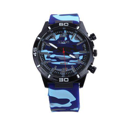 PINBO 581 - 8 Camouflage Rubber Sports Watches