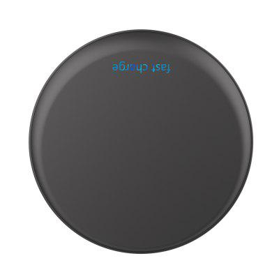 HAMTOD Super Thin Round Wireless Fast Charge AdapterChargers &amp; Cables<br>HAMTOD Super Thin Round Wireless Fast Charge Adapter<br><br>Accessories type: Power Adapter<br>Material: ABS, Aluminium Alloy<br>Package Contents: 1 x Wireless Charger<br>Package size (L x W x H): 10.00 x 10.00 x 3.50 cm / 3.94 x 3.94 x 1.38 inches<br>Package weight: 0.2000 kg<br>Product weight: 0.1000 kg
